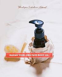 face/body oil workshop