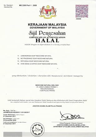Chứng nhận tiêu chuẩn HALAL2
